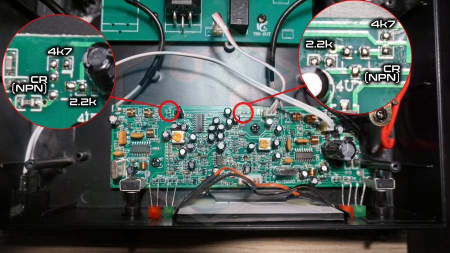 SAL MV500 kimenet módosítás